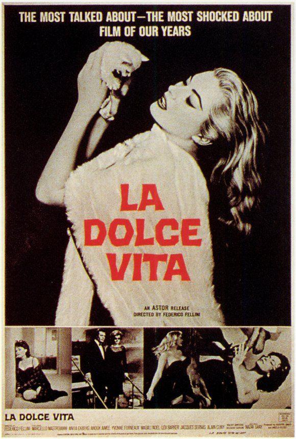 La Dolce Vita movie posters at MovieGoods.com