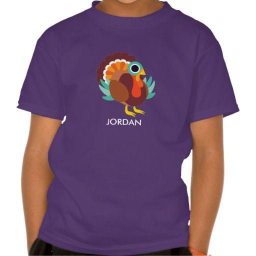 Rollo the Turkey. Producto disponible en tienda Zazzle. Vestuario, moda. Product available in Zazzle store. Fashion wardrobe. Regalos, Gifts. #camiseta #tshirt