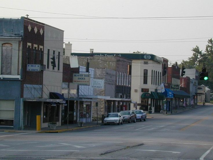 beaver dam ky | Beaver Dam, KY : looking north in downtown beaver dam, the old part of ...