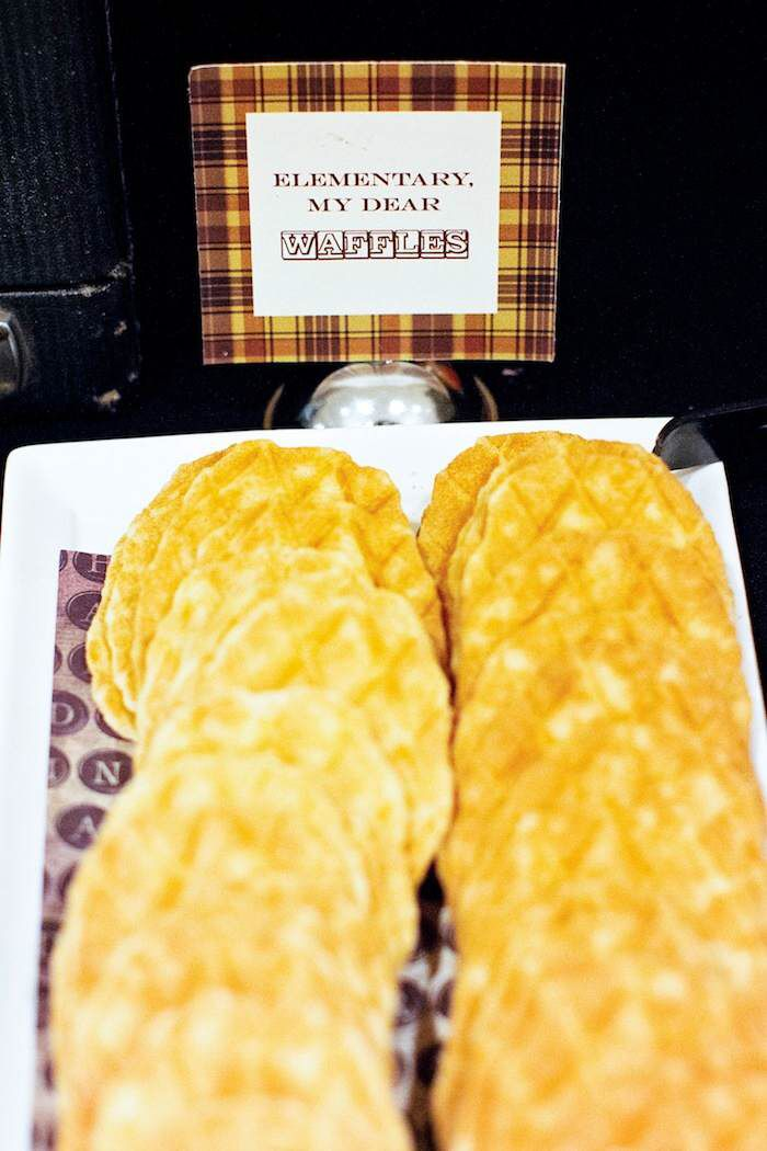 Food Ideas Based On Sherlock Holmes
