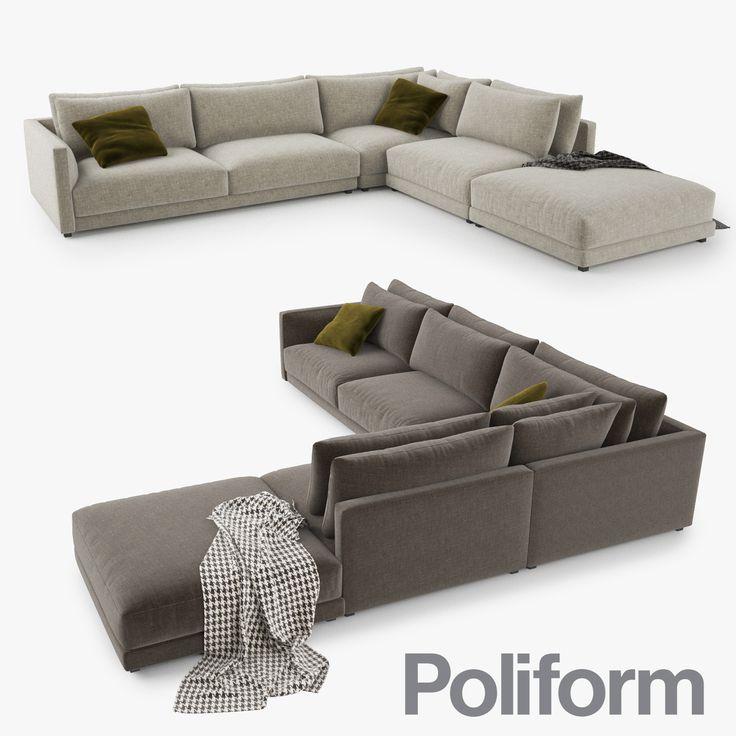 3d 3ds poliform bristol sofa furniture sofa pinterest bristol living rooms and room. Black Bedroom Furniture Sets. Home Design Ideas