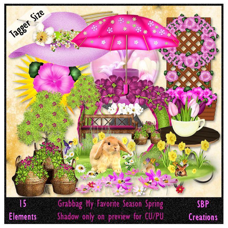 SBP Creations: Grabbag My Favorite Season Spring
