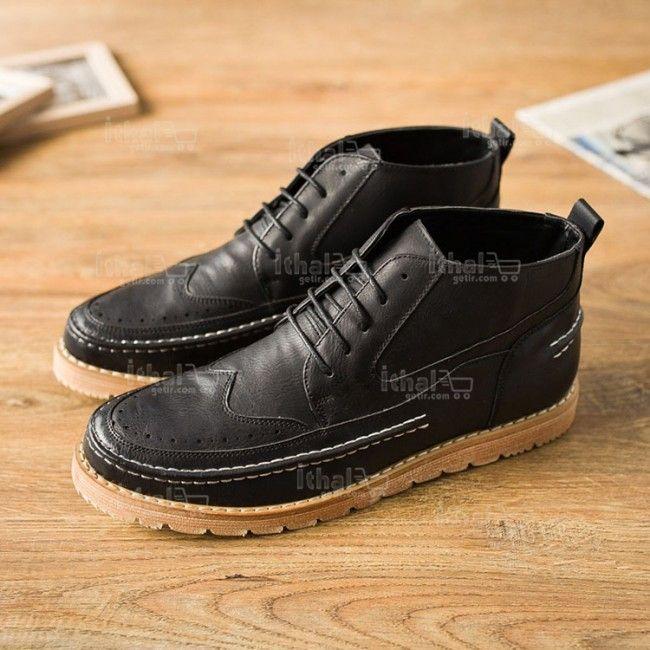 Yüksek Kaliteli Malzemelerden Üretim Moda Erkek Ayakkabı Modelleri - 571582 - 18-1