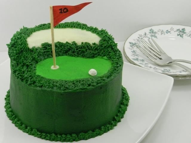 Fun Golf Cake!