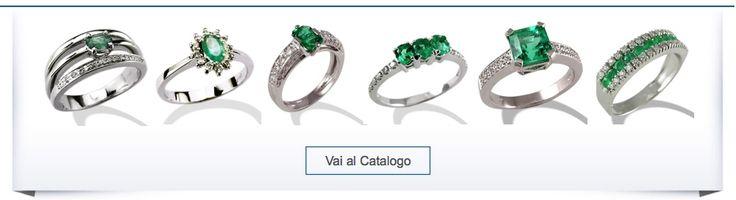 SMERALDI  Acquista online i migliori anelli con smeraldi realizzati in oro e diamanti dai sapienti orafi italiani nei laboratori orafi di Valenza. Troverai l'anello con smeraldo perfetto per ogni occasione, ogni smeraldo è certificato e proviene dai migliori giacimenti in Colombia e Brasile.  Guarda tutti gli anelli con smeraldi: http://www.torinogioielli.com/vendita-gioielli-online/anelli-smeraldi/