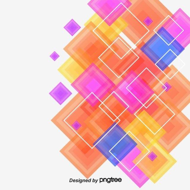 المربعات الملونة مشرق ملون صندوق Png وملف Psd للتحميل مجانا Artwork Abstract Abstract Artwork