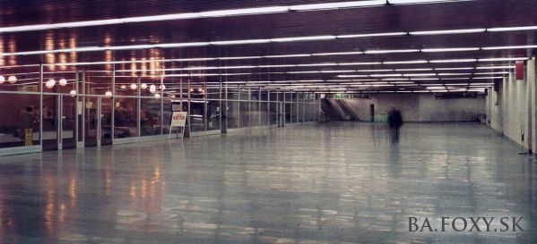 Podchod Hodžovo námestie