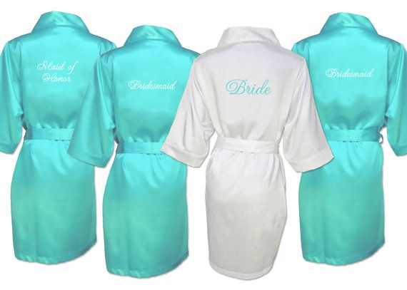 Our exclusive silky satin robes are made of a luxurious fabric not offered elsewhere! We offer over 25 colors of soft heavier satin exclusive