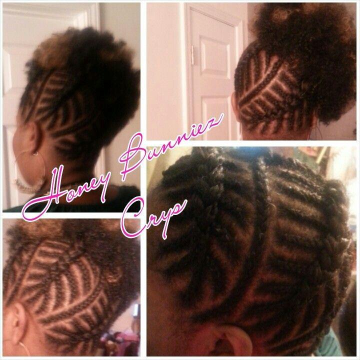 Fishbone Braids African American Protective Hair Styles