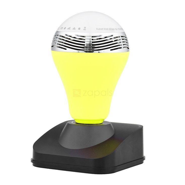 bluetooth v40 edr smart led light bulbs speaker - Colored Light Bulbs