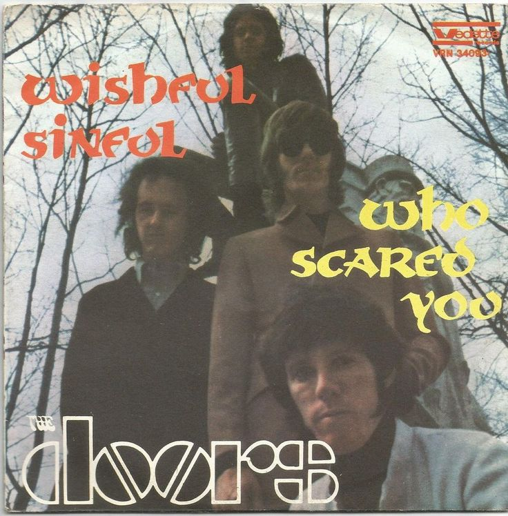 THE DOORS wishful sinful / who scared you 7\