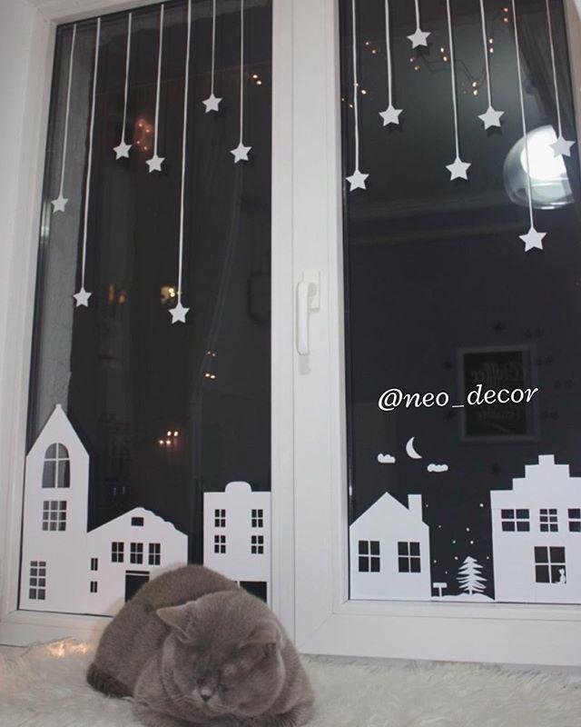 СКАЗКУ в каждое окно Праздничный декор окна замечательно дополнит новогоднюю елку. А в комнате, где нет елки, на время праздника тоже поселится новогоднее настроение☺️. Самый простой и красивый способ - декорирование окон наклейками @neo_decor До Нового года ещё целых три месяца, но мы советуем вам готовиться заранее❄️ Для заказа Direct/WA +7989-811-90-79 Катя #новогоднийдекор #рождественскийдекор #новогоднийинтерьер #декорокна #новогодняяфотосессия #новогодняяночь #ноговогд...
