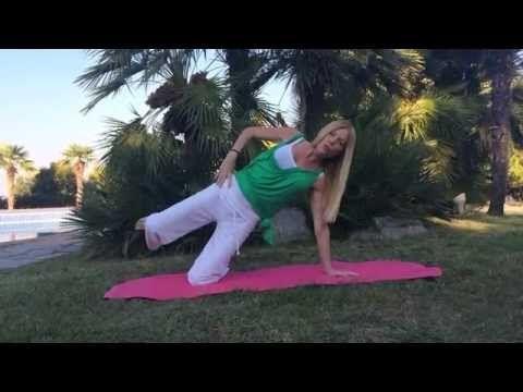 Ασκήσεις για τα πόδια (β μέρος). Leg exercises by Elinor Dahlberg. - YouTube
