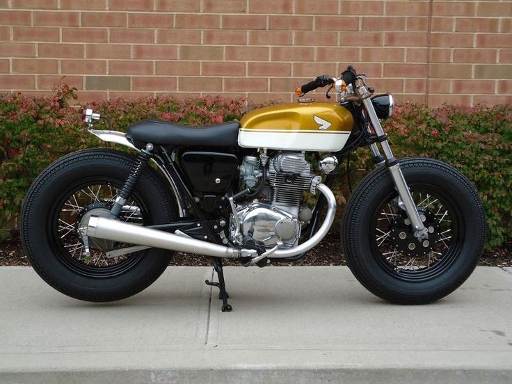 Honda CB Cafe Racer Tires
