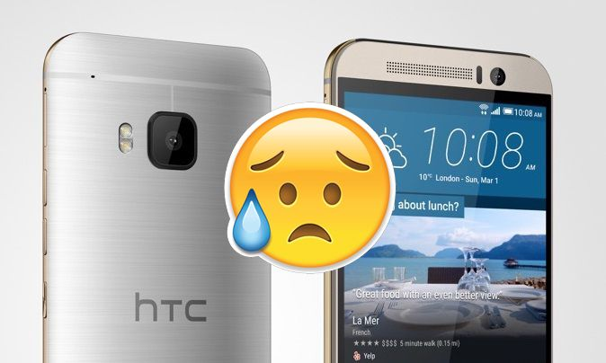2015, the year when HTC almost signed their sentence