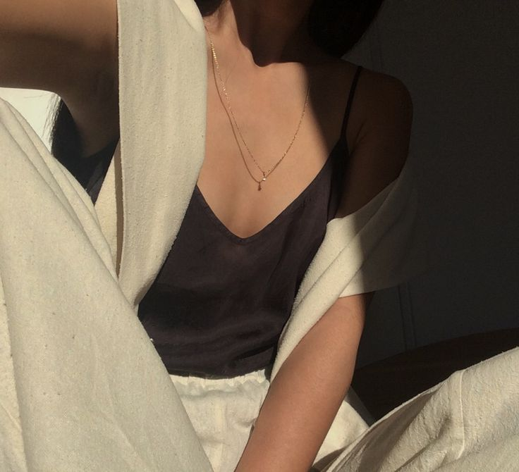sunny | @MariaVanNguyen Necklace Jane Koenig │ Dress and Pants Avenue │ Camisole Organic by John Patrick