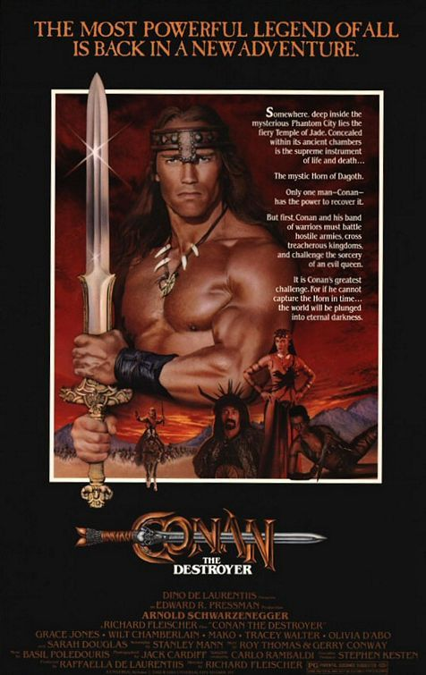 Conan The Destroyer (1984).