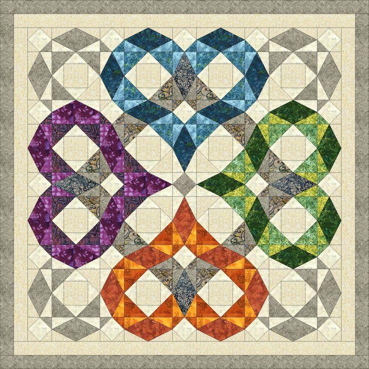 Best 25+ Storm at sea quilt ideas on Pinterest   Traditional quilt ... : storm at sea quilt block pattern - Adamdwight.com