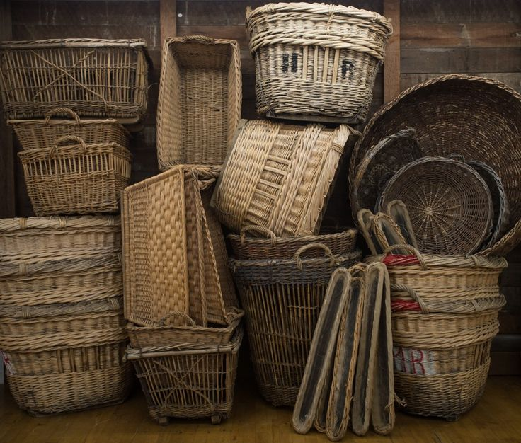 Found Vintage Rentals Baskets
