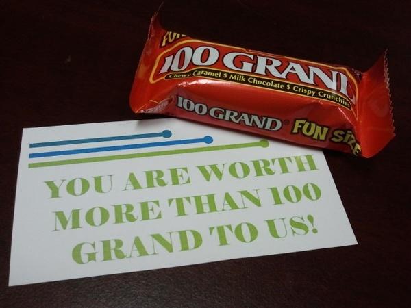candy + pun = instant appreciation