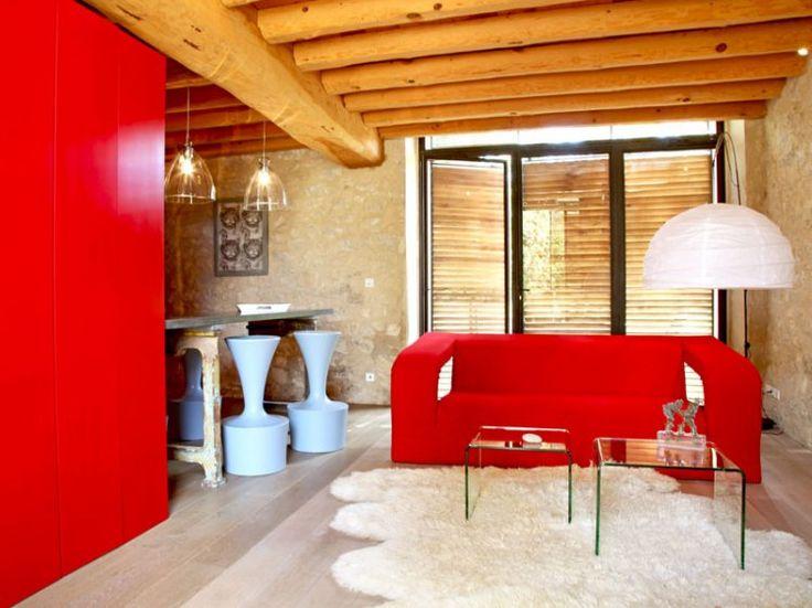 Marvelous Salon Déco Rouge. SalonsSalon SalonVivreRed White ...