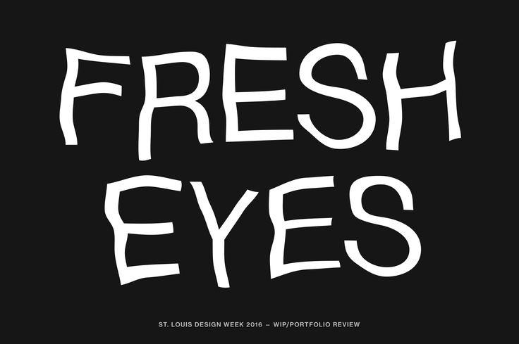 Fresh Eyes — WIP/Portfolio Review – Good Fucking Design Advice Store