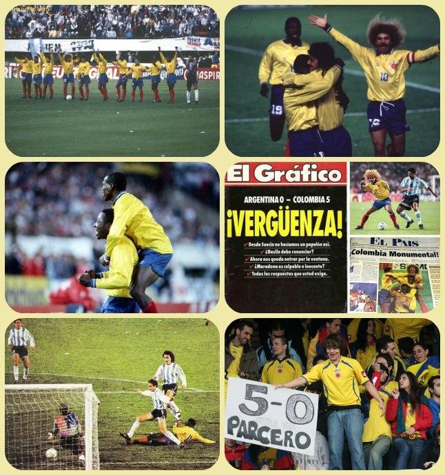 Un día como hoy, hace 19 años, se jugó uno de los partidos más memorables en la historia de nuestro fútbol. Colombia se clasificaba al Mundial EE.UU. 94 con una goleada 5-0 sobre Argentina, en su propio estadio.