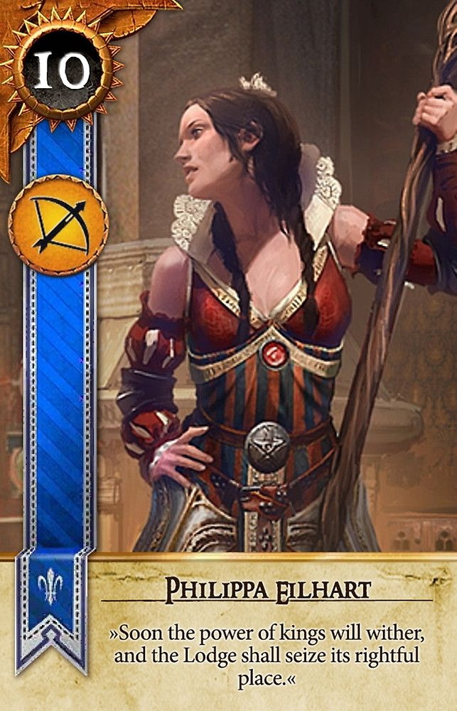 Philippa Eilhart (Gwent Card) - The Witcher 3: Wild Hunt