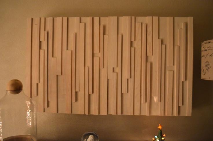 Wallmounted TV Cover by PIERCE  LOVE 32500 via Etsy