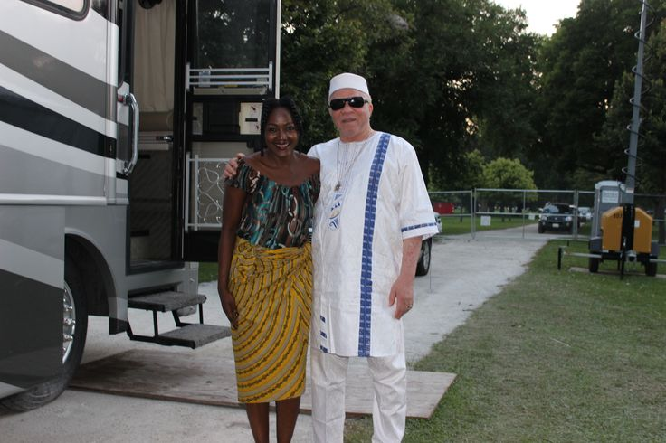 Salif Keita and Vivalda Dula at African festival of the Arts, Chicago 2014