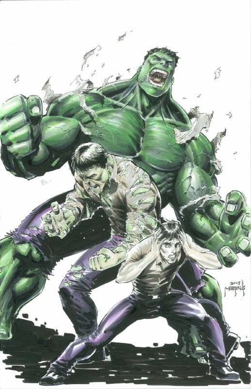 #Hulk #Fan #Art. (Hulk Transformation) By: Jason Metcalf. ÅWESOMENESS!!!  ™… __CXXXVII__