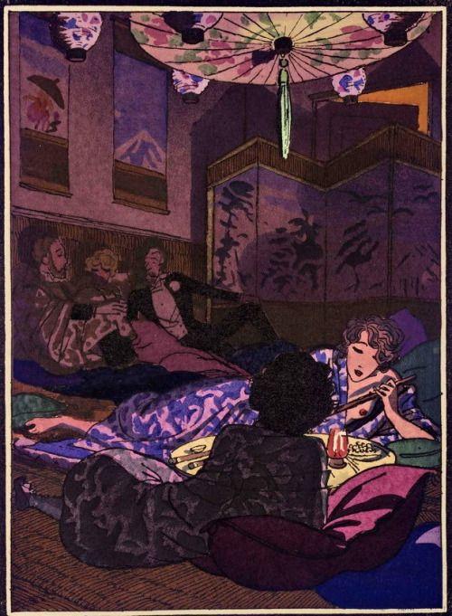 """sisterwolf: """"A dohányzás ópium Párizsban"""""""