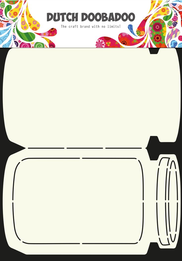 470.713.609 Dutch Doobadoo Card Art Cookie Jar