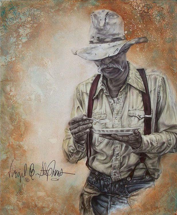 """""""Cow-boy Quizeen"""", (cuisine)  -  de Virgil C. Stephens"""