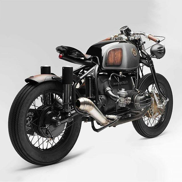 unmistakable style @south_garage_motorcycles Via @badassmotostore #bmw #r75 #special #coolmotorcycles #vintage #bmwclassic #bmwmotorrad #caferacer #custom #garage #bratstyle #vintagemotorcycles #vsco #rust #streetstyle #riders #oldschool #seaside #msom #cool #mensstyle #bmwcaferacer #gentleman #vintagebmw #bobber #tGBmag #thegoldblackmagazine