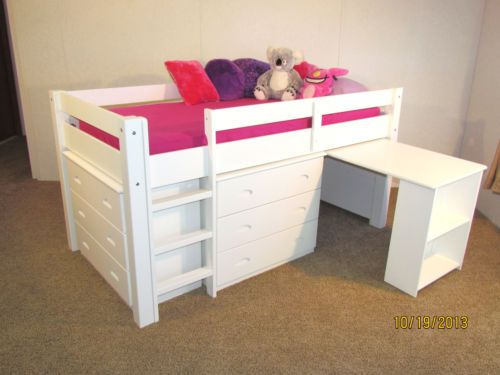 17 Best ideas about Loft Bed Desk on Pinterest | Bunk bed ...
