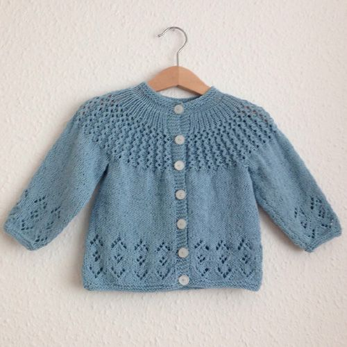 We Like Knitting: Rosabel Cardigan - Free Pattern