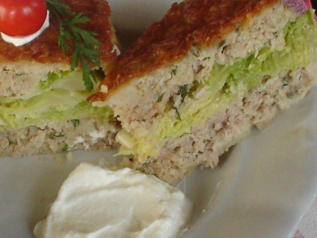 Kelkáposztás húsfelfújt Recept képpel - Mindmegette.hu - Receptek