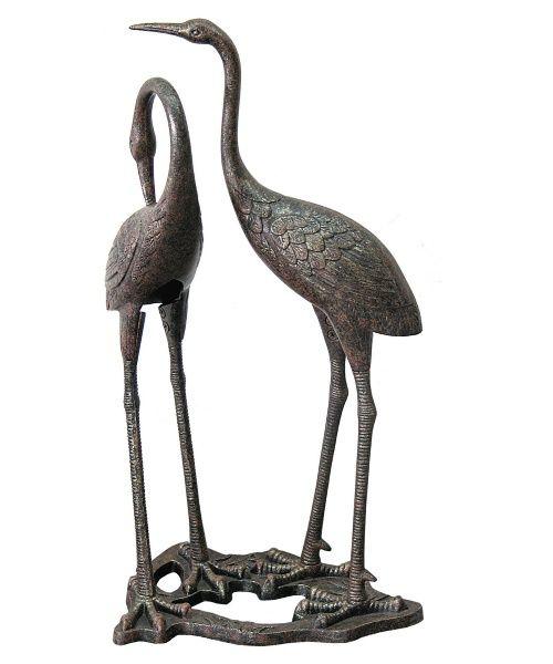 Innova Heron Duo Garden Statue - Garden Statues at Hayneedle