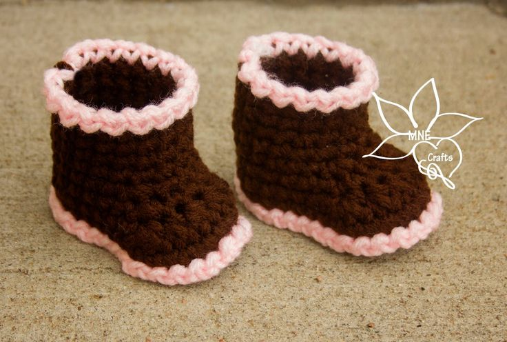 MNE Crafts: Boots for the Littles