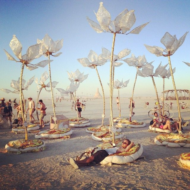Radical Self-Expression at the Burning Man Festival in Black Rock City