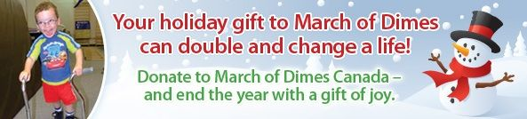 March of Dimes Toronto | This season, give the gift of giving - March of Dimes