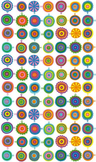 inspired by the designer's grandmother's crocheted potholders