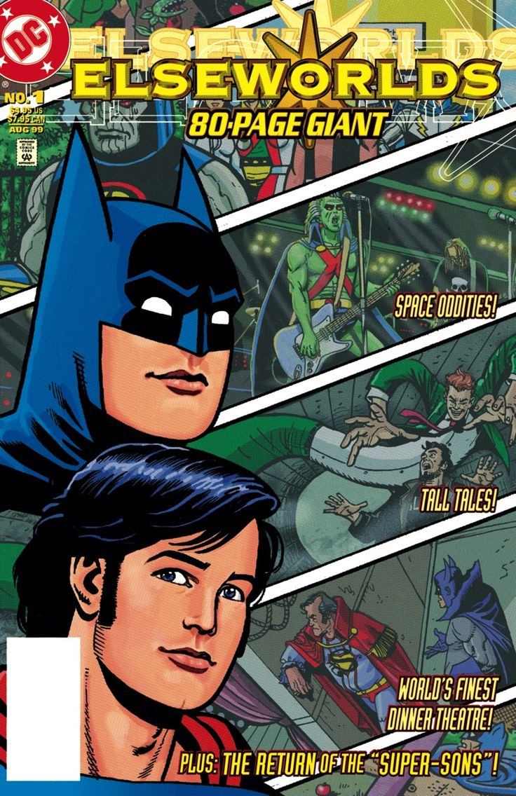 ELSEWORLDS: JUSTICE LEAGUE VOL. 2 TP Written by RANDY L'OFFICIER, JEAN-MARC L'OFFICIER, DOUG MOENCH and others Art by TED McKEEVER, DAVE ROSS, GEORGE FREEMAN and others Cover by TY TEMPLETON