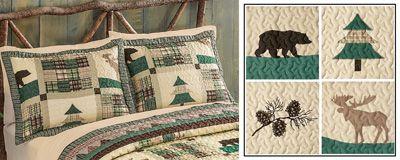 Northwoods Lodge Moose Pillow Sham