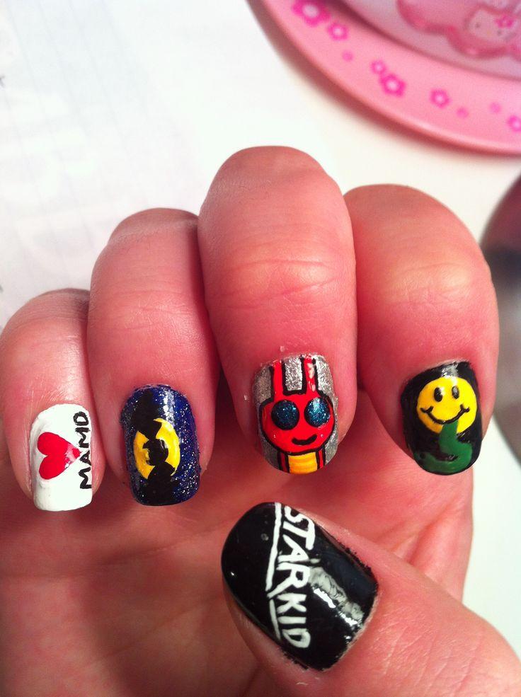 102 best nerd nails images on Pinterest | Nail scissors, Fingernail ...