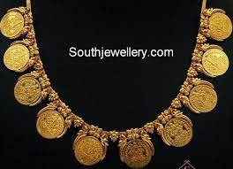 Short kasu necklace