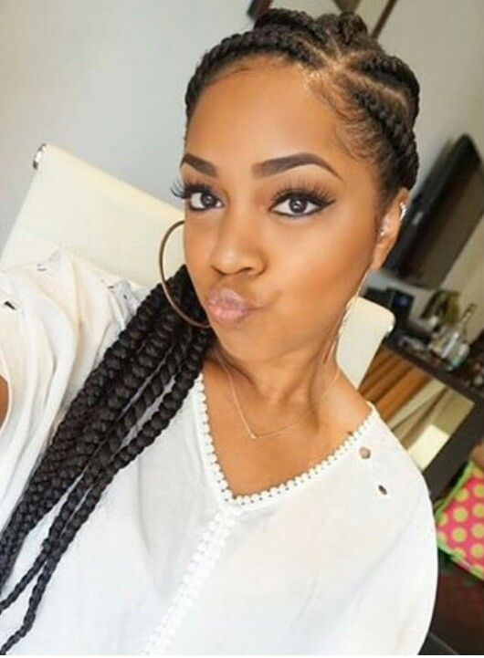 Chunky Cornrows Braid It Up Pinterest Ps And Cornrows