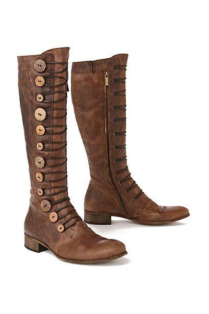 Button Brigade Boots Anthropologie