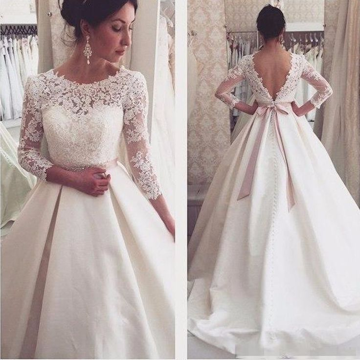 2018 New Simple Elegant Wedding Dress Beautiful Lace A: 25+ Melhores Ideias De Vestidos De Noiva Princesa No
